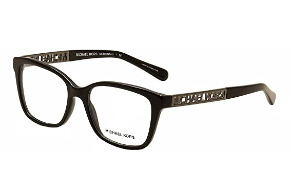 Michael Kors Foz Eyeglasses MK8008 3005 Black 52 17 135: Amazon.ca ...