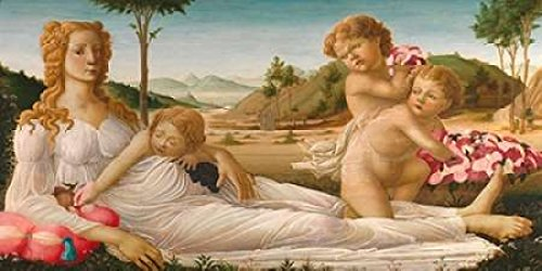 An Allegory Poster Print by After Botticelli (24 x 48)