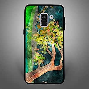 Samsung Galaxy A8 Watercolor tree leaves