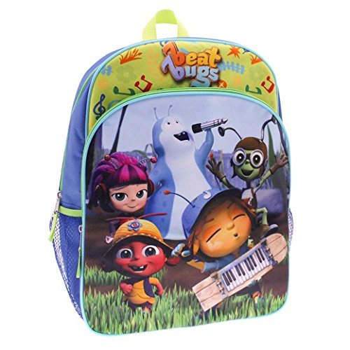Beat Bugs ''All You Need is Love'' Backpack Book Bag by BB