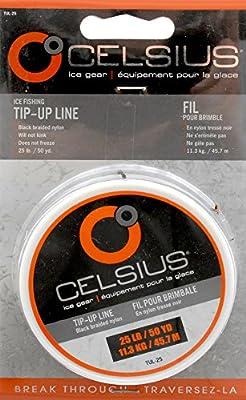 Celsius Tip Up Line, 15-Pounds, 50-Yards by Celsius
