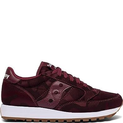 Sneakers Jazz Original Men Saucony in pelle scamosciata pelle liscia e nylon con intersuola Eva