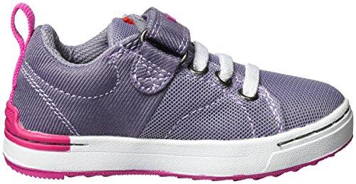Viking Frogner Kids, Zapatillas de Deporte Exterior Unisex Niños Violett (Grey/Magenta)