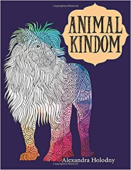 Amazon Com Animal Kingdom Coloring Book 40 Stress Relieving Bird