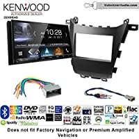 Volunteer Audio Kenwood DDX9904S Double Din Radio Install Kit with Apple CarPlay Android Auto Bluetooth Fits 2013-2016 Honda Accord