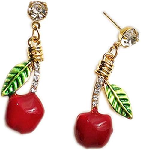 Women/'s Carved Ear Studs Earrings 18K Rose Gold Filled Water Drop Jewelry NEW