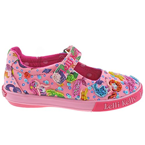 Lelli Kelly LK5058 (BC02) Pink Fantasy Mermaid Dolly Shoes-27 (UK 9 ... 2dd2e738d4d