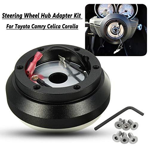 (Universal Steering Wheel Hub Adapter Boss Kit For Toyota Camry Celica Corolla)