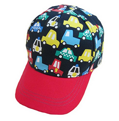 Brcus Kids Toddler Boys Girls Cartoon Cotton Adjustable Baseball Hats Sun Visors