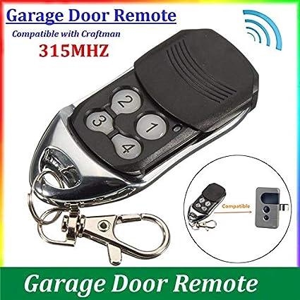 315 MHz wireless garage door remote control