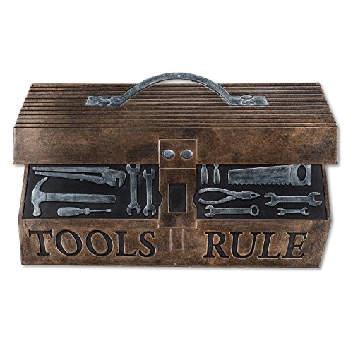 Abbott Collection 35-Rubber/5277 Tools Rule Doormat by Abbott Collection