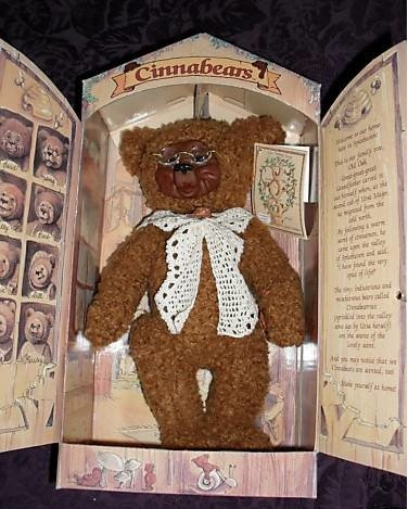 Cinnabears Nana Nutmeg Teddy Bear (Nana Teddy Bear)