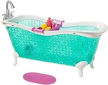 Barbie Mattel CFG69   Badezimmer, Puppenzubehör