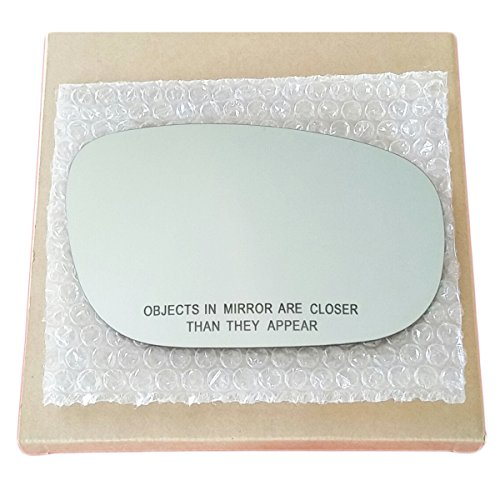 Mirror Glass and ADHESIVE   05 - 10 Dodge Charger or 05 - 09 Dodge Magnum or Chrysler 300 Passenger Right Side Replacement (2005 Chrysler 300 Mirror)