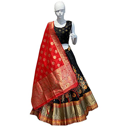 ready to wear pure banarasi wedding party wear lehenga choli trendy culture 0022