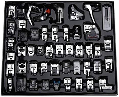 Piezas de Prensatelas para Máquinas de Coser, Accesorios de Máquina de Coser Caseros Prácticos Profesional - 48 Pcs: Amazon.es: Hogar
