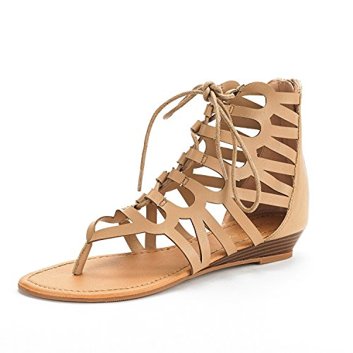e43e31884374 DREAM PAIRS Women s Open Toe Ankle Strap Gladiator Flat Sandals ·  related-product. Liliana Avis-3 Women Leatherette Strappy ...