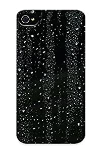 Iphone 4/4s Case, Premium Protective Case With Awesome Look - Glass Rain Storm (gift For Christmas)