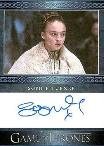 2016 Game of Thrones Season 5 Trading Cards Autograph Sophie Turner as Sansa Stark