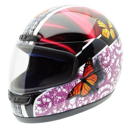 NZI Activy Appassionata Casco de Moto, Blanco con Franja Central Violeta y Siluetas Snowboard, XL: Amazon.es: Coche y moto