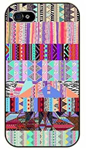 iPhone 5 / 5s Aztec Pattern - black plastic case / Art, hipster, tribal