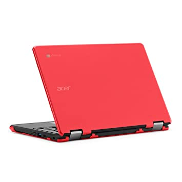 mCover - Carcasa rígida para Acer Chromebook Spin 11 R751T CP311 (** No es compatible con ninguna otra computadora portátil Acer **) -Rojo