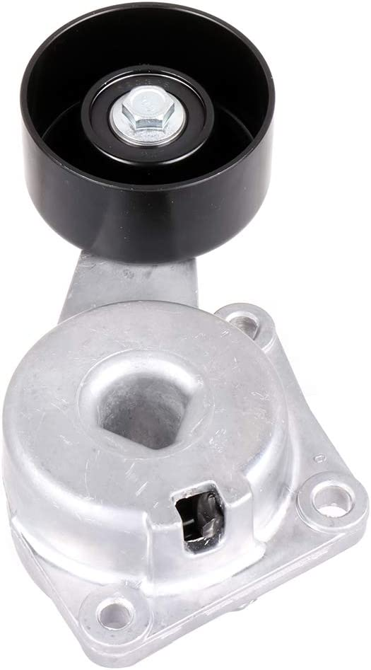 ROADFAR Belt Tensioner Pulley Assembly Compatible for 1997-2001 Ford E-150 Econoline 1997-2001 Ford E-150 Econoline Club Wagon 1997-2001 Ford E-250 Econoline 2003 Ford E-350