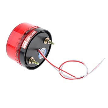 Signalleuchte Stra/ßenverkehr Zulassung SM SunniMix Orange LED Rundumleuchte Mehrzweck Blinkleuchte 12 V KFZ Warnleuchte