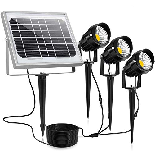 CLY Solar Spotlights LED 3 in 1