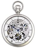 Desperado ''Golden Gate'' Pocket Watch High Grade Skeletonized 17 Jewel Movement Glass Crystals