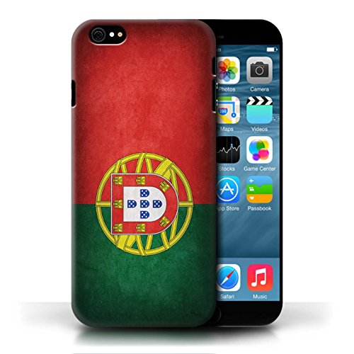 Hülle Case für Apple iPhone 6/6S / Portugal/Portugiesische Entwurf / Flagge Collection