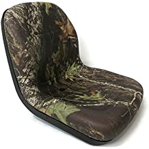 New Camo HIGH BACK SEAT for Hustler ZTR Zero Turn Lawn Mower Garden Tractor by The ROP Shop