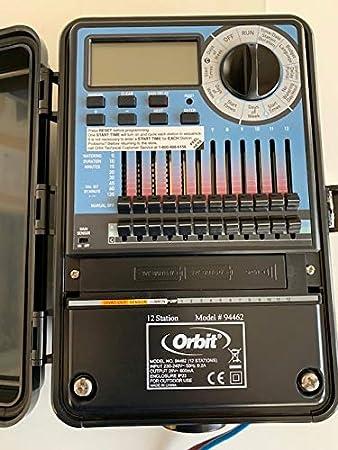 Orbit 94462 - 12 Estacion Programador Automatático Para Sistemas De Riego - Exterier