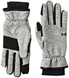 Under Armour Girls Storm Fleece Glove, Black (002)/Black, Medium
