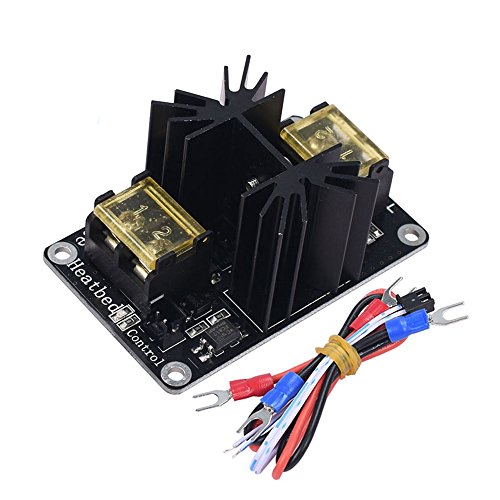 Farwind Add-on Heated Bed Power Expansion Module High Power MOS Tube with Cable for 3D Printer Ramps 1.4 by Farwind