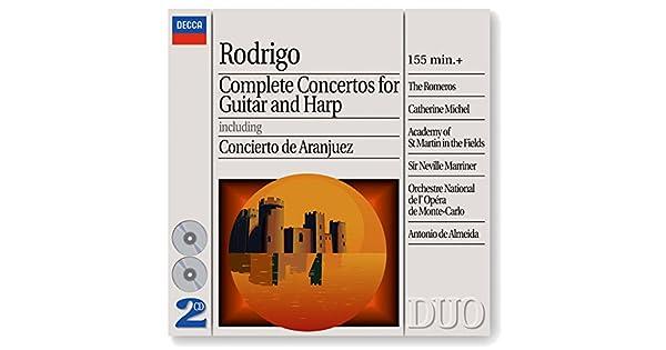 Amazon.com: Rodrigo: Concierto Andaluz For 4 Guitars And ...