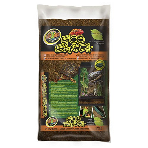 Zoo Med Eco Earth Loose Coconut Fiber Substrate 8 Quarts Pets House Pro