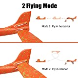 "4 Pack Airplane Toys, Upgrade 17.5"" Large Throwing"
