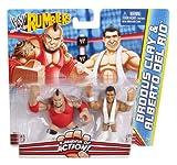 WWE Rumblers Brodus Clay and Alberto Del Rio Figure 2-Pack