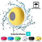 Mini Shower Speaker-Wireless, Waterproof Bluetooth...