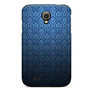 Blue Pattern Case Compatible With Galaxy S4/ Hot Protection Case