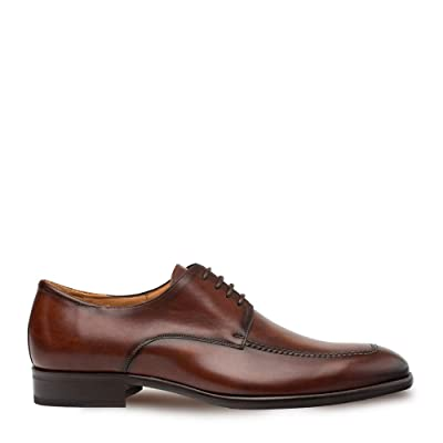 Mezlan Coventry - Mens Luxury Dress Shoes - European Calfskin with Hand Finishes - Handcrafted in Spain - Medium Width | Oxfords