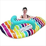 Fly Water Slippers Floating Row Floating Bed Fashion Slippers Swimming Ring Water Inflatable Swimming Ring Air Cushion Inflatable Floating Row