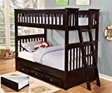 American Furniture Classics Bunk Bed, Twin Over Twin