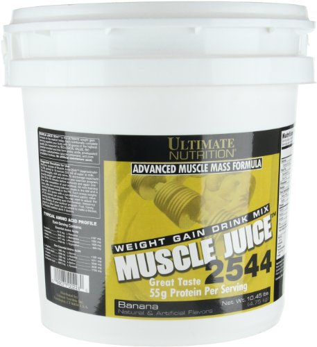 099071002280 - Ultimate Nutrition Muscle Juice 2544 Weight Gain Drink Mix, Banana carousel main 2