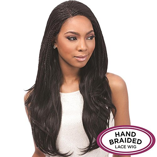 Sensationnel Empress Senegal Collection Braided Lace Wig - SENEGAL J CURL (F4/30 - MED BROWN/MED (Brown Dreadlock Wig)