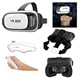 3D VR Box with Remote For All Mobile Phones Screen Size 4.7~6 Inch Mobile Phones iPhone 5 / 5S / 6 / 6S Samsung with VR Box Wireless Bluetooth Remote Control Game Joystick Android IOS Apple IPhone. Mini Bluetooth Controller For All Gamepad, Selfie Shutter Remote, Mobile, Tablet Pc And Vr Headset.
