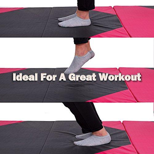Sportmad Thick Folding Panel Gymnastics Tumbling Mat For