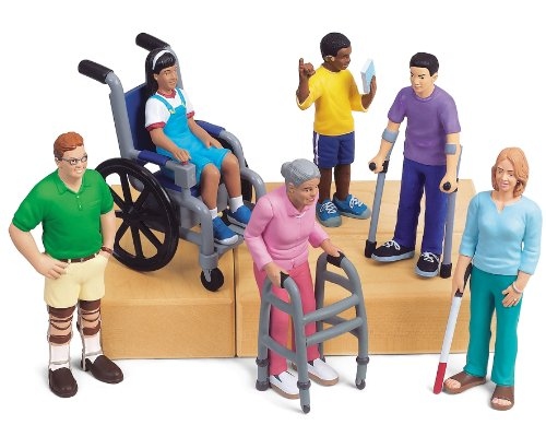 Lakeshore Pretend and Play People with Differing Abilities