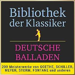 Deutsche Balladen (Bibliothek der Klassiker)